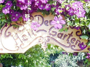 Eingang Heilgarten